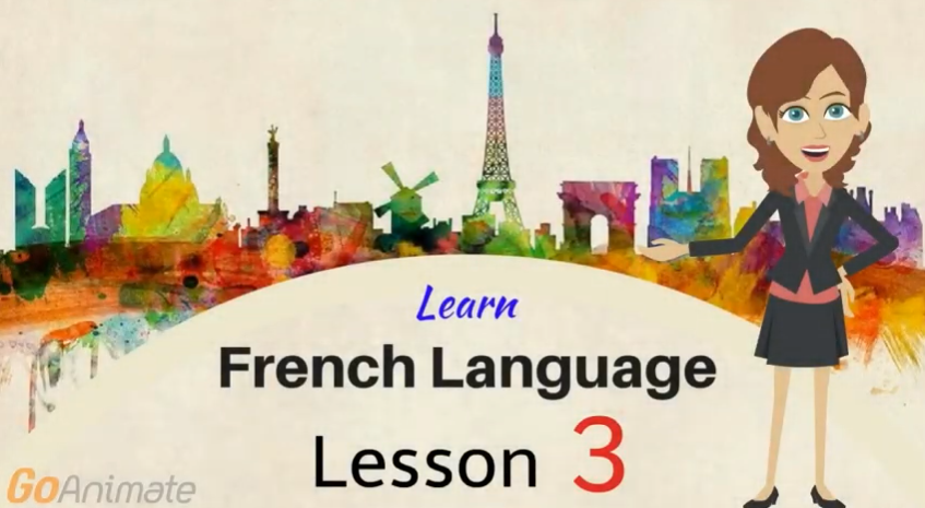 Take online French lessons and improve your French language skills.