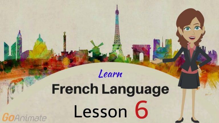 Watch Your Way To Learning French–Part 6!