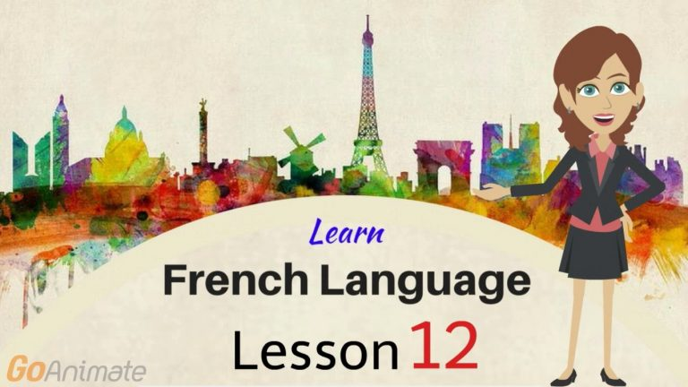 watch Your Way To Learning French–Part 12!