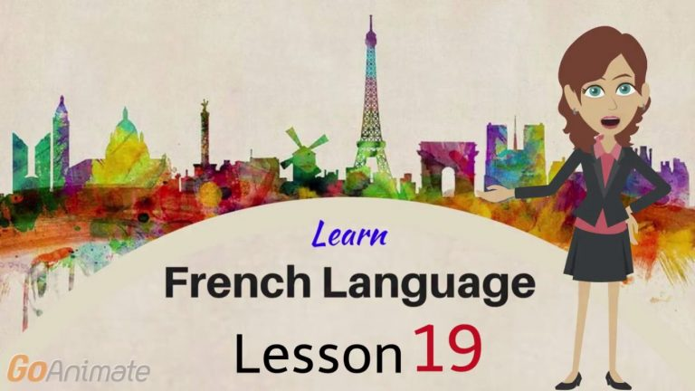 Watch Your Way To Learning French–Part 19!