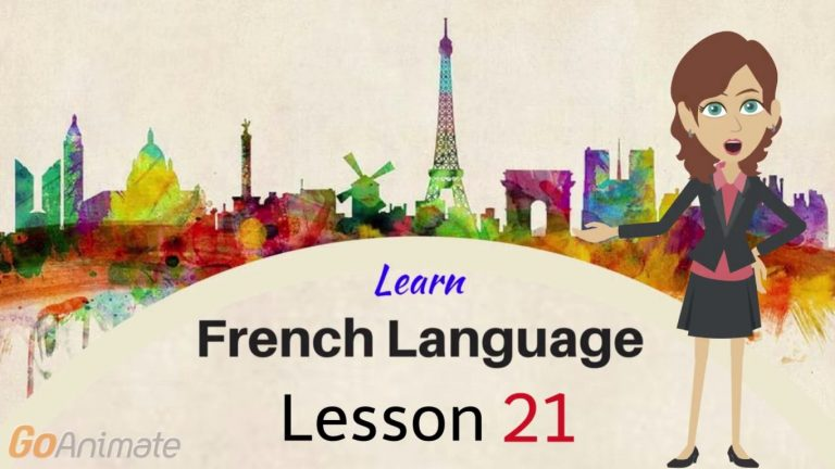 Watch Your Way To Learning French–Part 21!