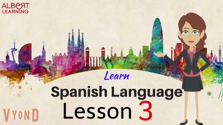 Watch Your Way To Learning Spanish- Part 3