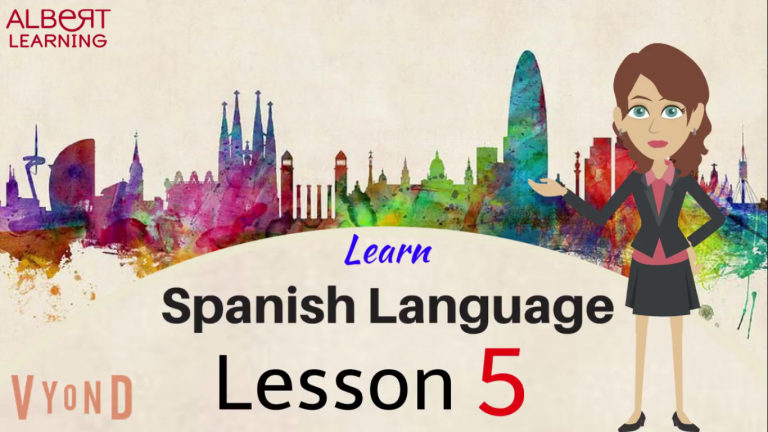 Watch Your Way To Learning Spanish- Part 5!