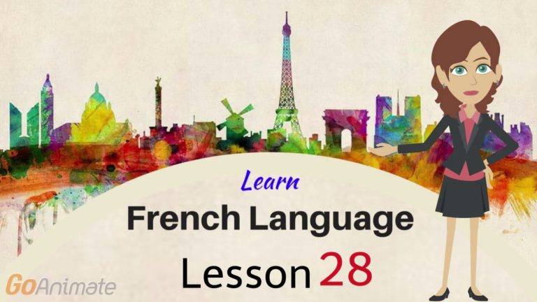 Watch Your Way To Learning French–Part 28!
