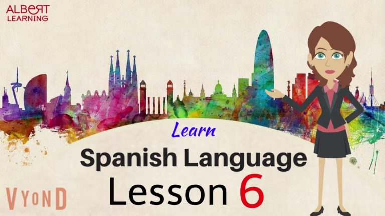 Watch Your Way To Learning Spanish- Part 6!