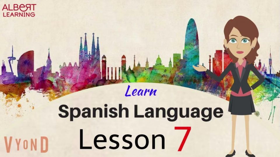 Learn Spanish with online by watching this video of Albert Learning.