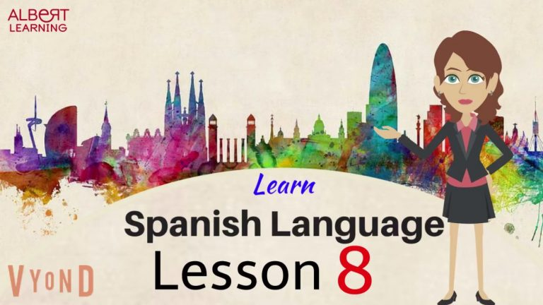 Watch Your Way To Learning Spanish- Part 8!