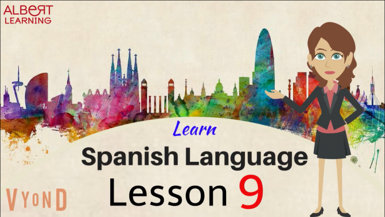 Watch Your Way To Learning Spanish- Part 9!