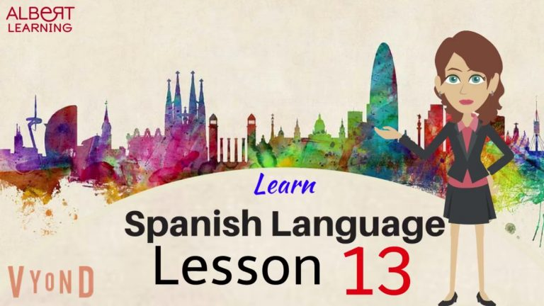 Watch Your Way To Learning Spanish- Part 13!