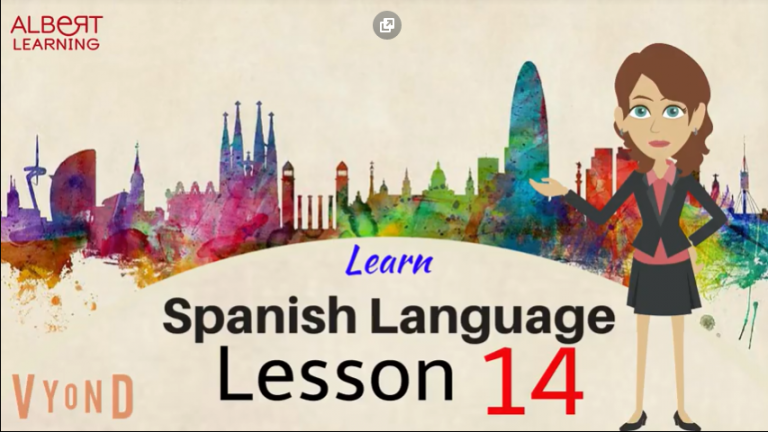 Watch Your Way To Learning Spanish- Part 14!