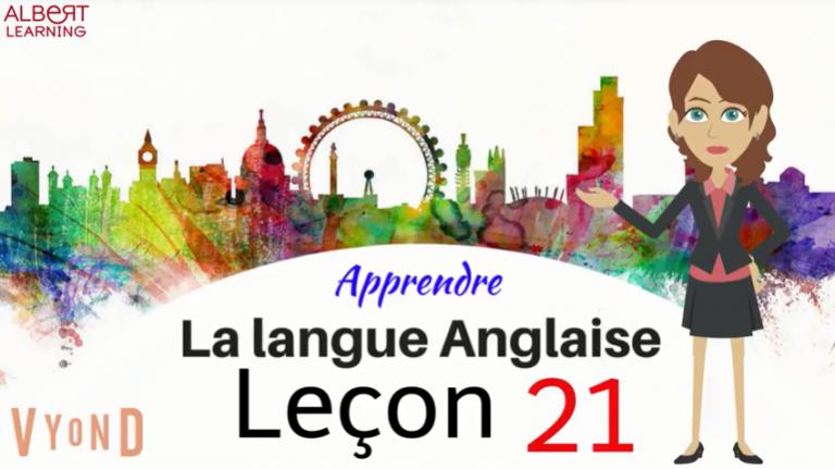 Regardez votre façon d'apprendre l'anglais- Partie 21!