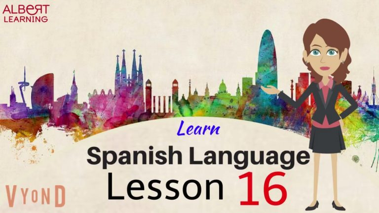 Watch Your Way To Learning Spanish- Part 16!