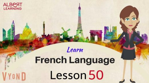 Learn French language skills - lesson 50